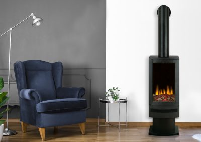 Bramshaw electric stove with pedastel stand